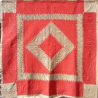 Sawtooth Diamond with corner blocks