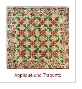 Applique und Trapunto